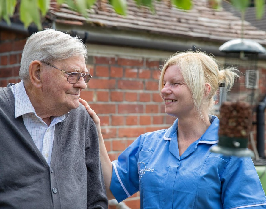 Knowing how to take care of people as Bluebird Care continues to soar to success