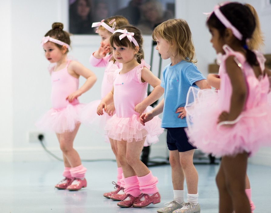 Baby steps? Nah, babyballet franchisees are more about toddler twists and turns