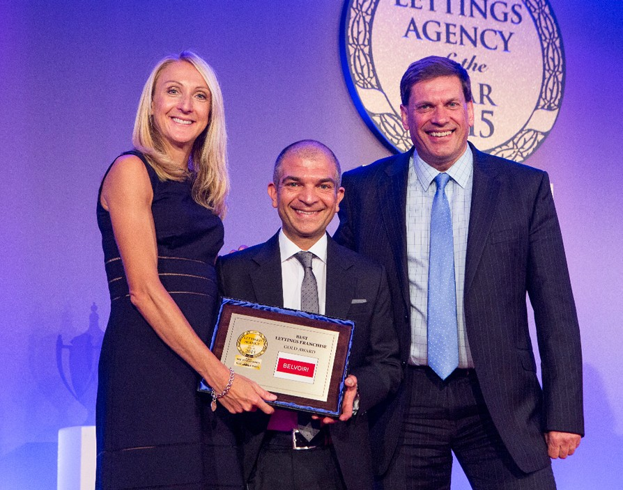 Belvoir scoops prestigious lettings award for fourth consecutive year