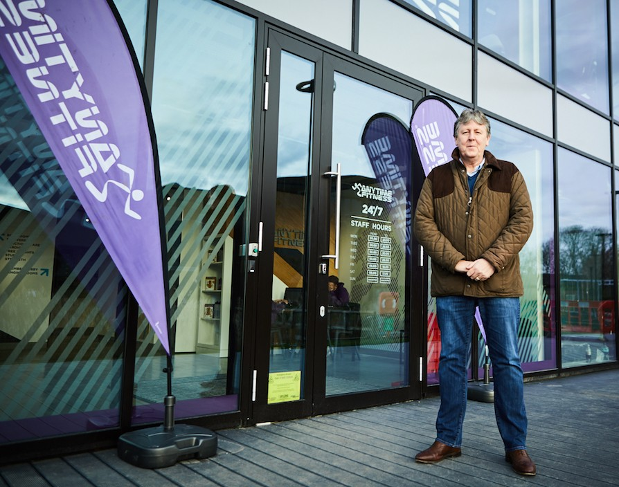Change-loving Anytime Fitness UK CEO Stuart Broster isn't afraid to stand tall against competition