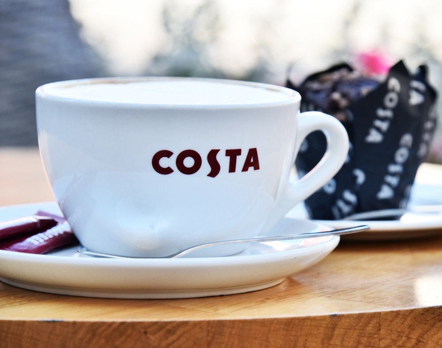 Costa's sales grew slower in the first quarter of 2017 compared to  2016