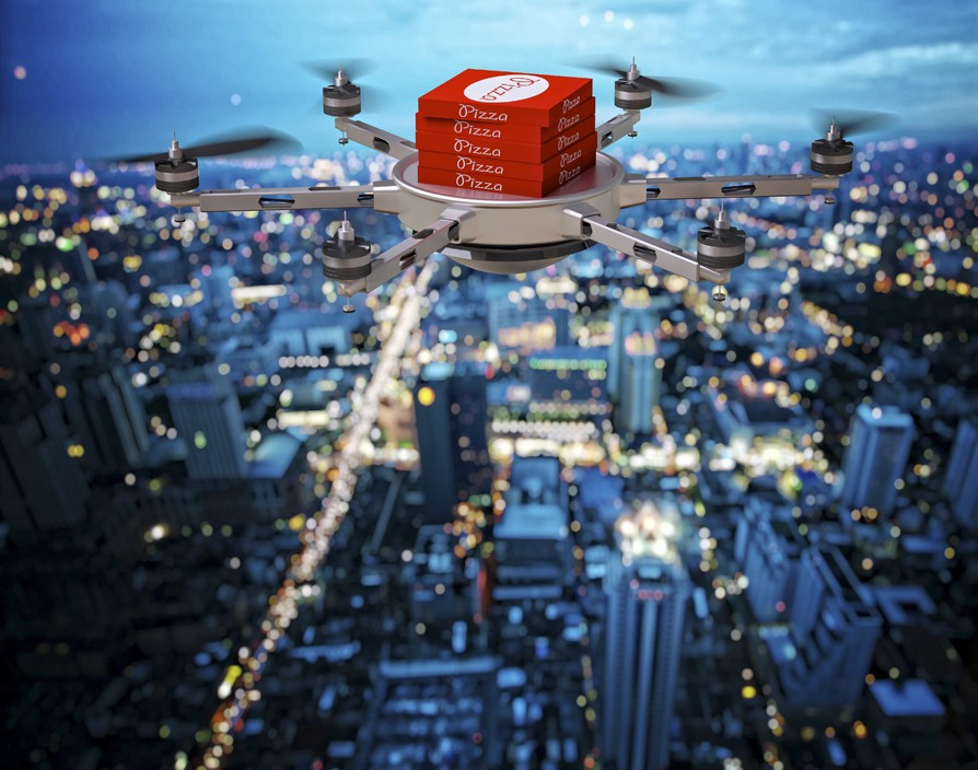 Domino's Pizza tests delivering pizza with drones