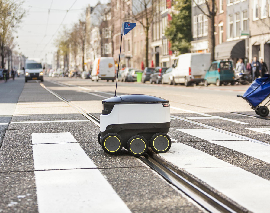 Domino's rolls out robot delivery trials in Europe
