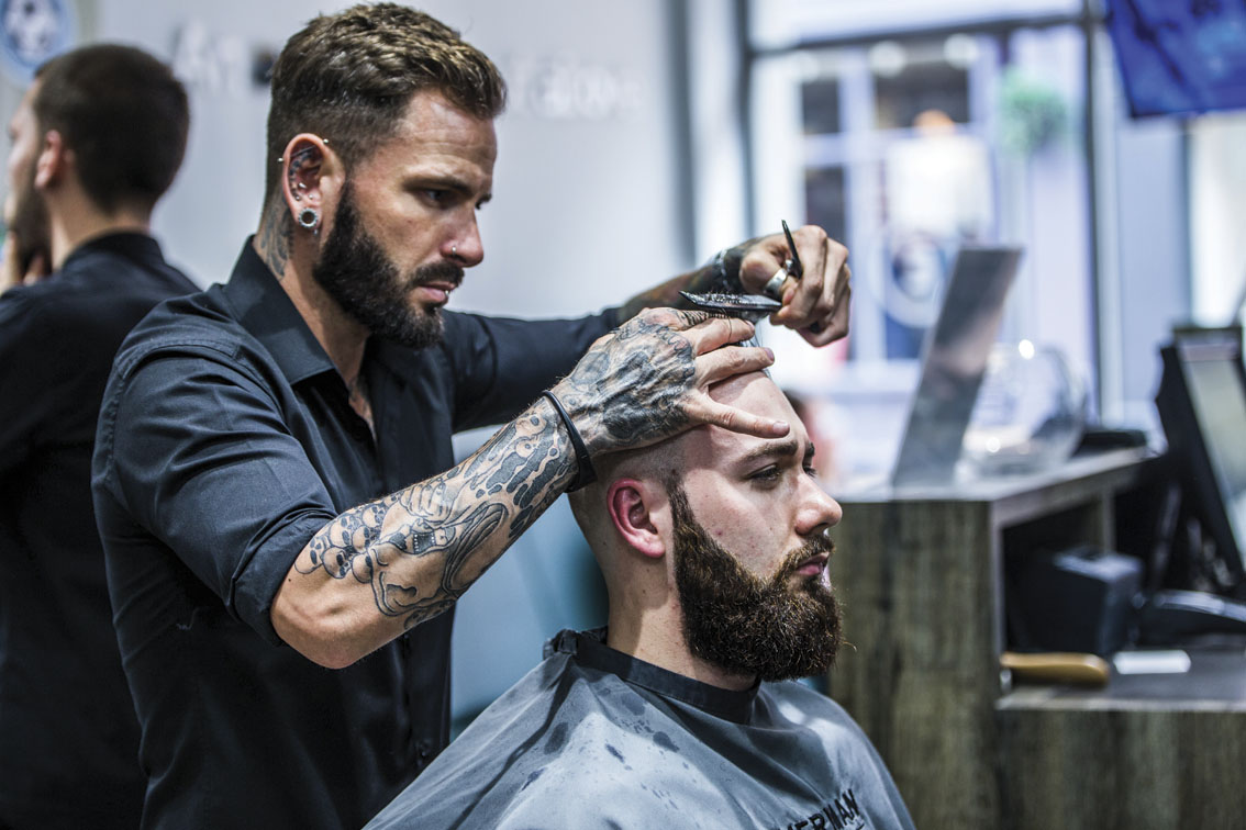 Everyman Barbers is looking for franchisees who are the cream of the crop