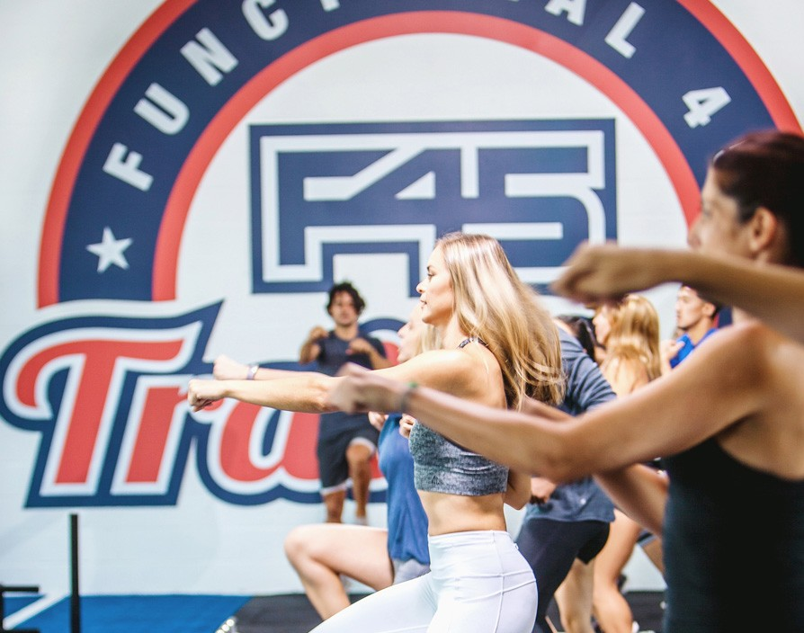 F45 training network hits 100 site milestone in the UK and Europe