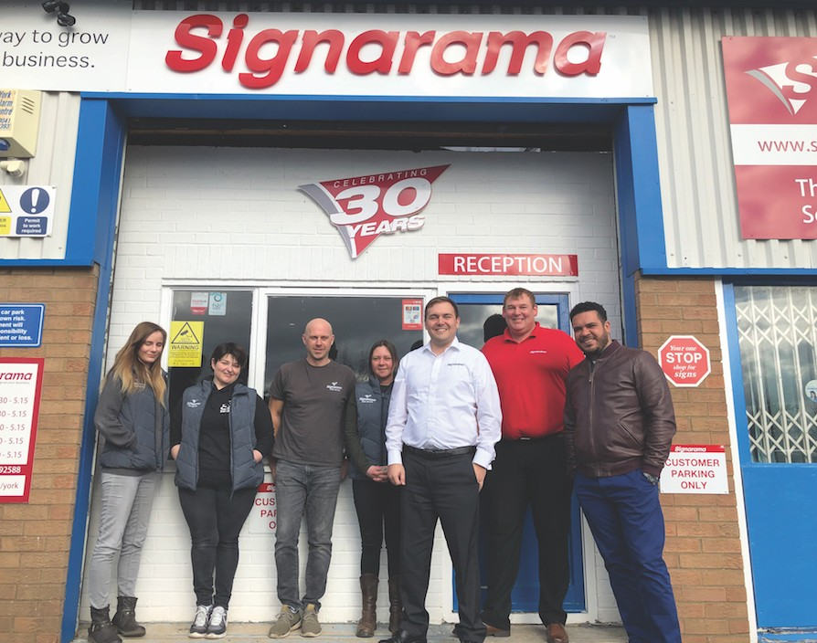 "He ""never knew Signarama existed"" and now he's the Canada and UK master franchisee"