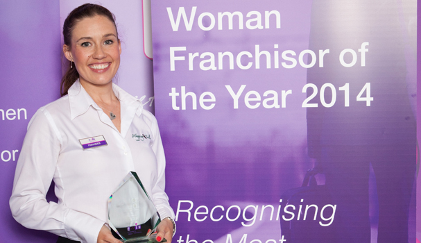 Lisa Suswain of Wagging Tails named best female franchisor at NatWest EWIF Awards