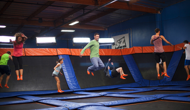 Sky Zone is looking to jump-start Blighty's trampolining trend