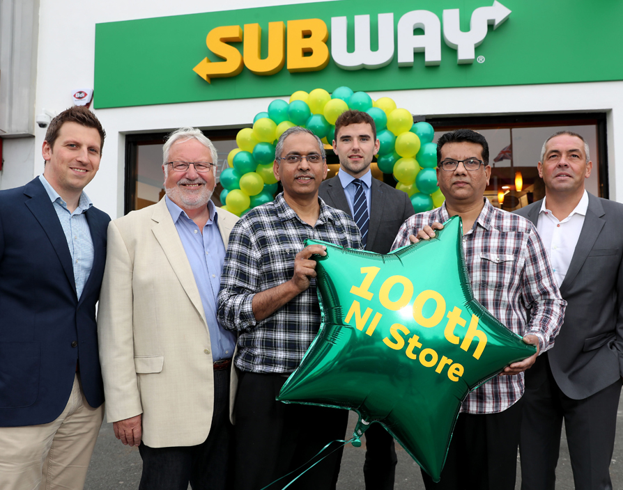 Subway opens 100th store in Northern Ireland