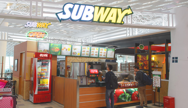 Subway opens its first store within a car dealership