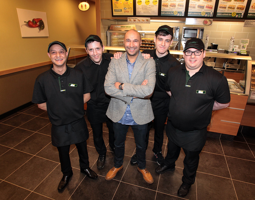 Subway opens 5,000th European restaurant in Scotland