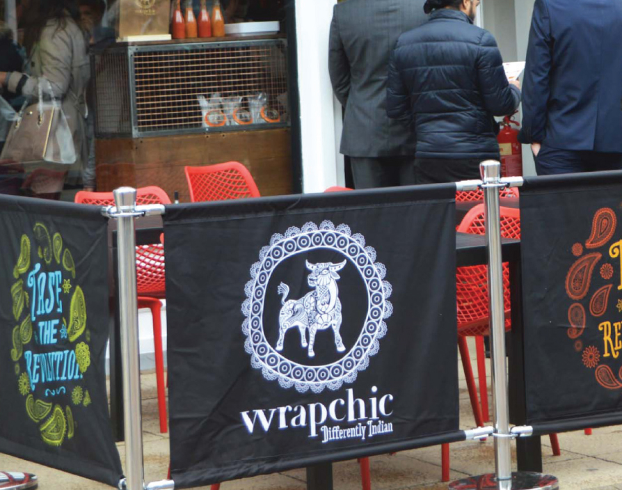 Wrapchic fills a gap in the market with its Indian and Mexican burritos