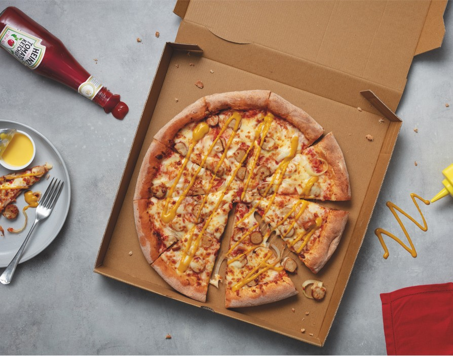 The Hot Dog Pizza: Papa John's and Heinz team up