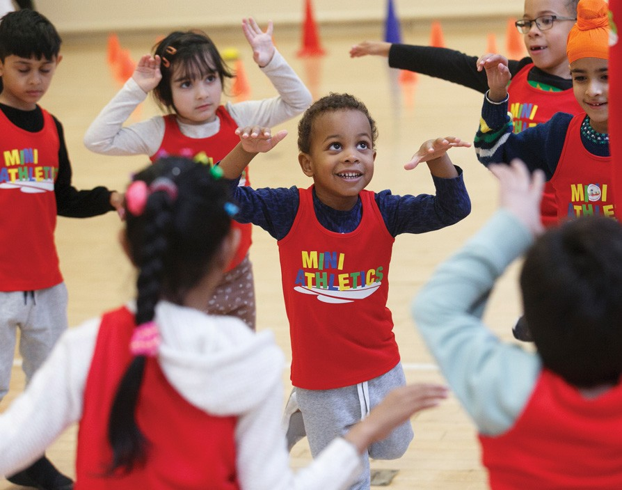 The Mini Athletics franchise is set to train children to be more active and become future athletes
