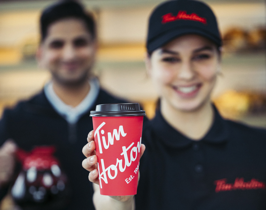 Tim Hortons announces location of first UK store