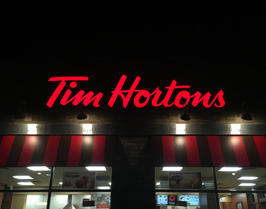 Tim Hortons opens first UK drive-through