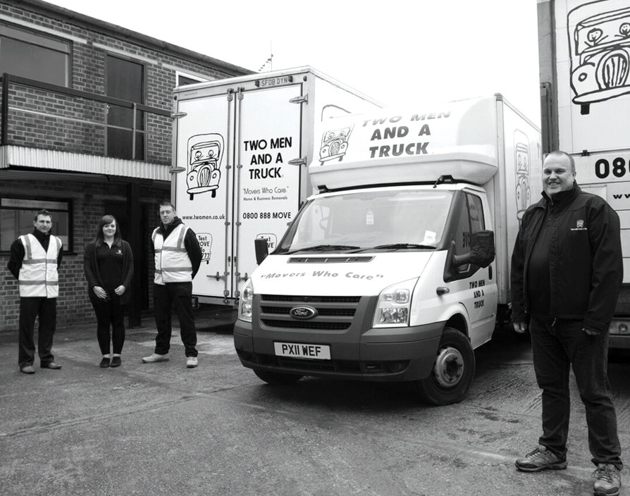 Two Men and a Truck is on the move in the UK