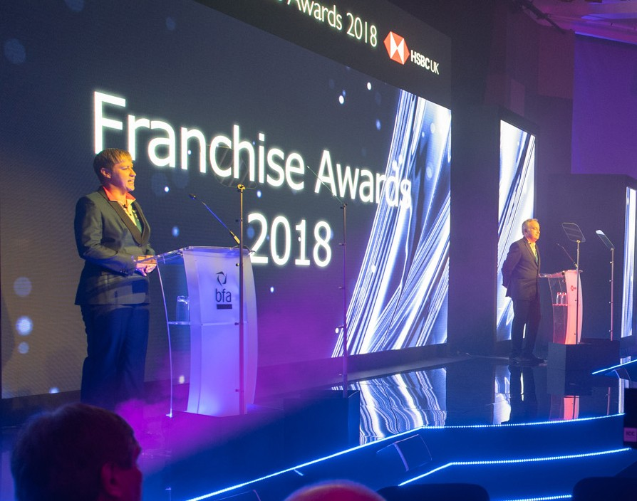Why an awards ceremony is hugely beneficial to your franchise as revealed by Pip Wilkins