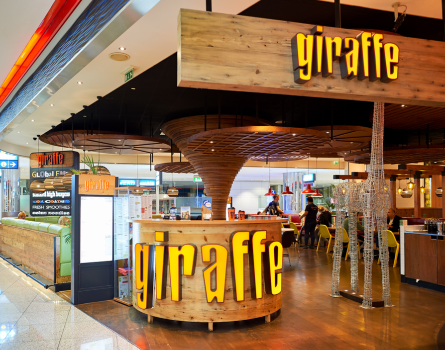 World food restaurant Giraffe landing in Spain through new franchise deal