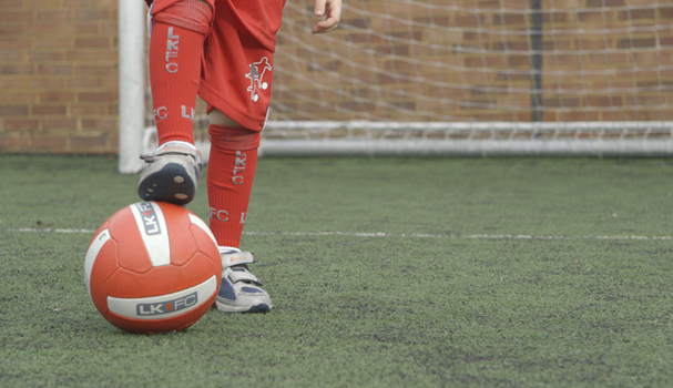 Young footballers around the world are flocking to Little Kickers
