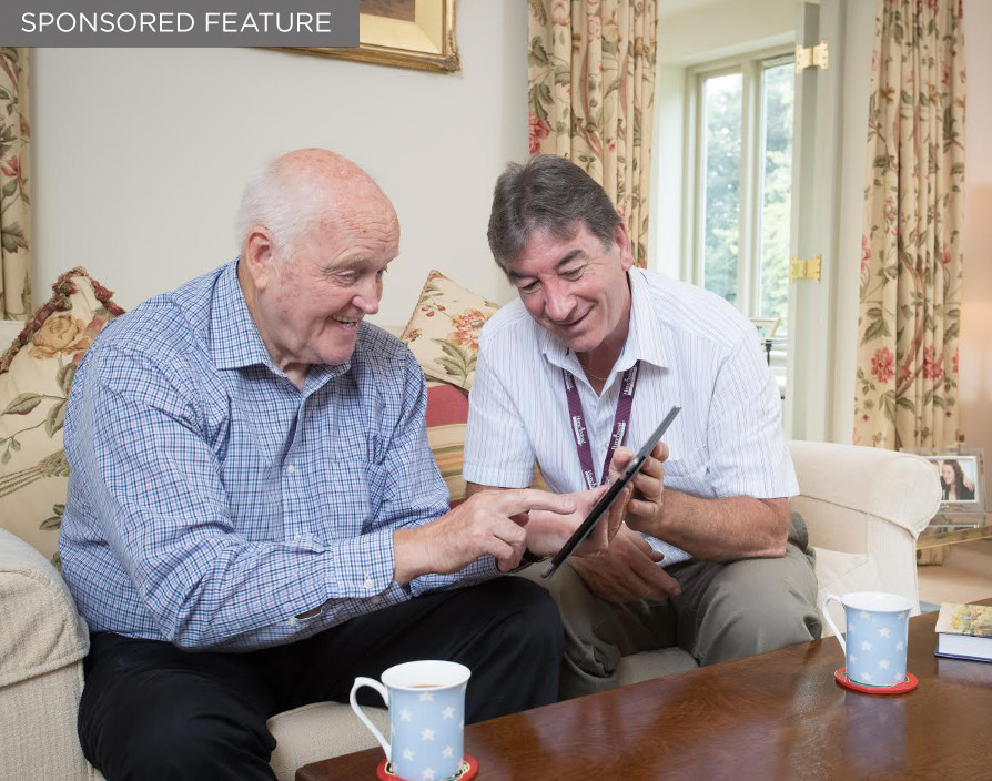 Combining the best of care with the best of technology