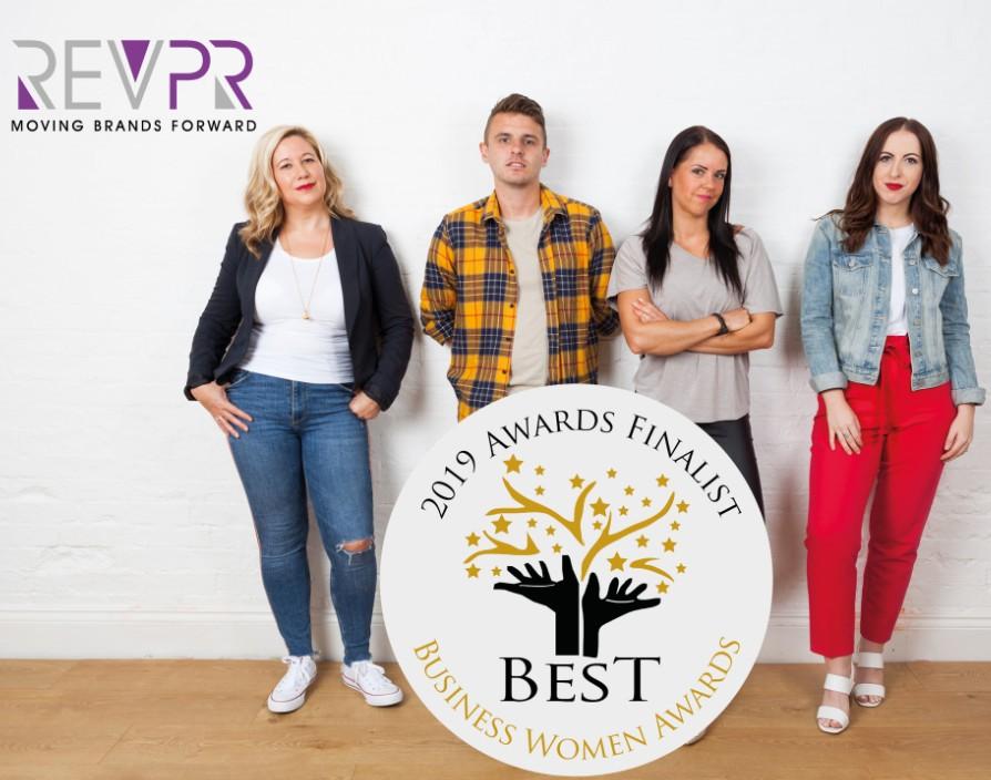 Rev PR rePResents female entrepreneurs and franchising in award shortlist